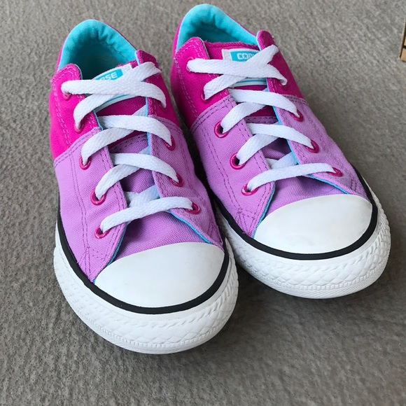 Details about Converse All Star Low Top Madison OX Fuschia Juniors 5